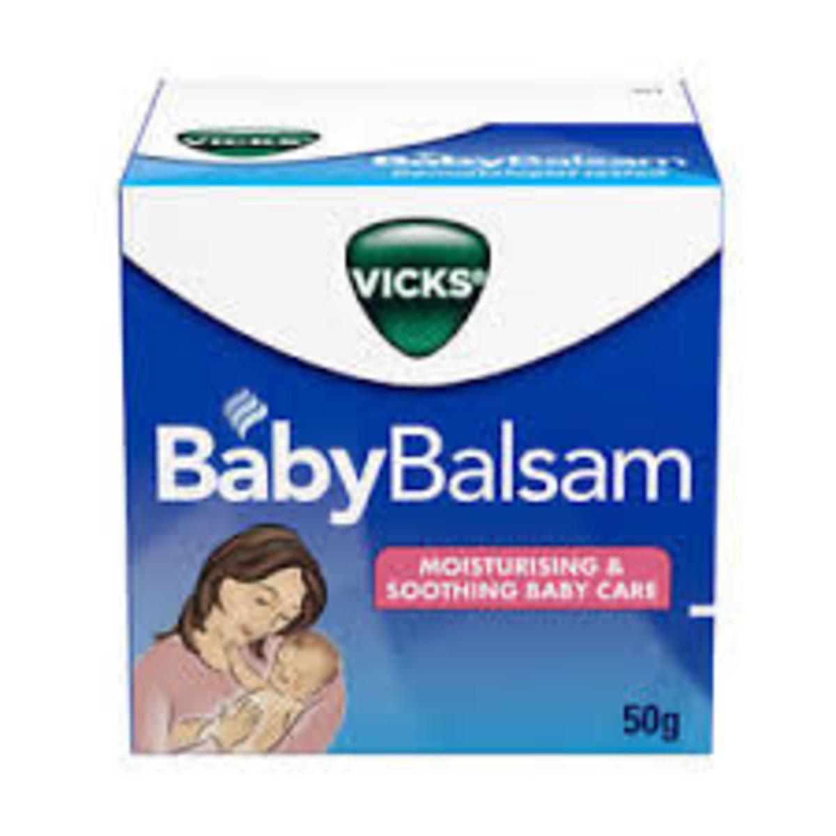 嬰兒兒童感冒舒緩膏 50g  (平行進口貨品)