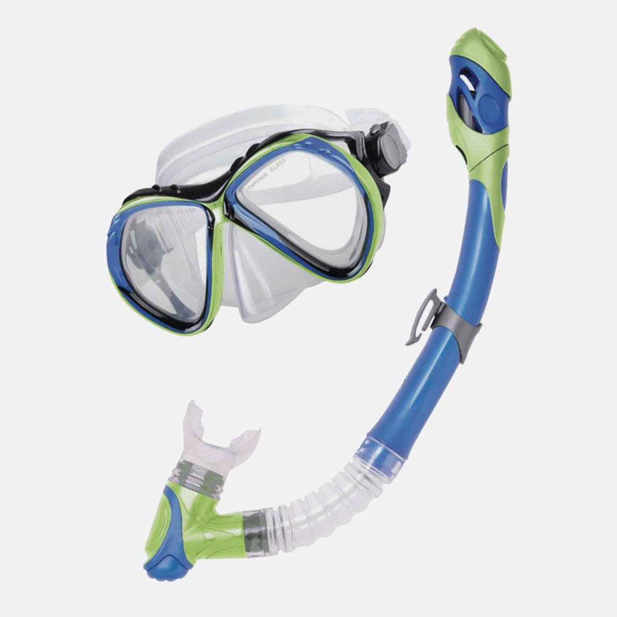 Curacao SR. Adult Advanced Series Snorkel & Mask Combo