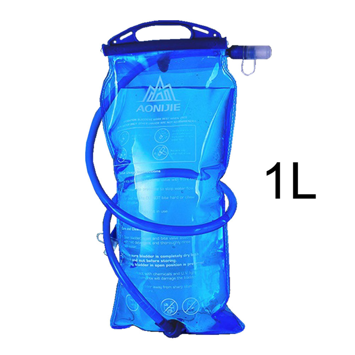 SD12 1L Foldable Hydration Bladder Water Bag For Outdoor Sports Cycling Hiking Marathon
