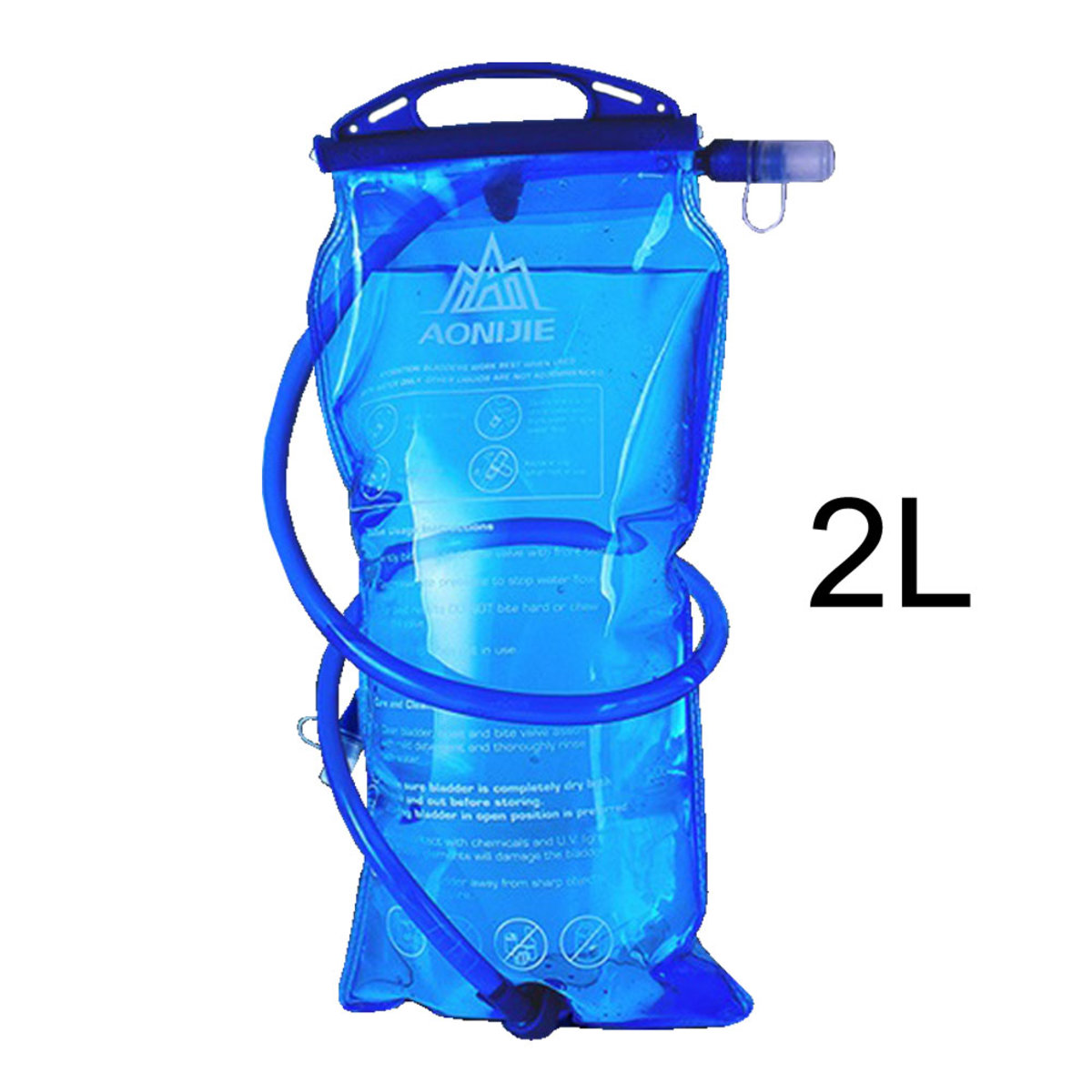 SD12 2L Foldable Hydration Bladder Water Bag For Outdoor Sports Cycling Hiking Marathon