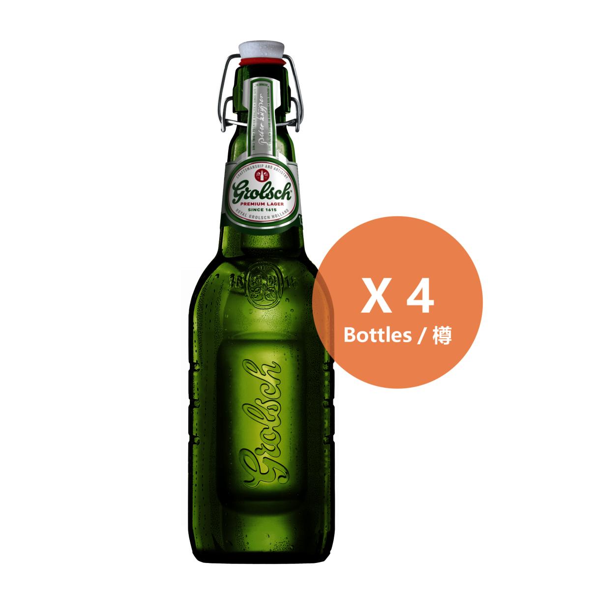 頂級拉格啤酒(經典拉蓋裝) - 4樽裝