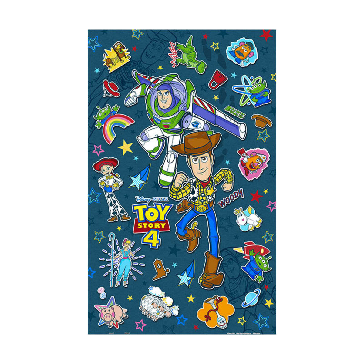 Toy Story 4 - Sticker Collection [Licensed by Disney]