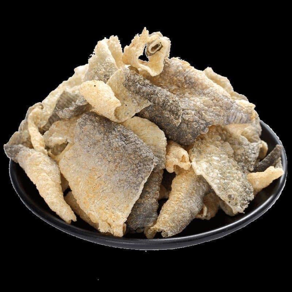 特級炸魚皮 (100g)