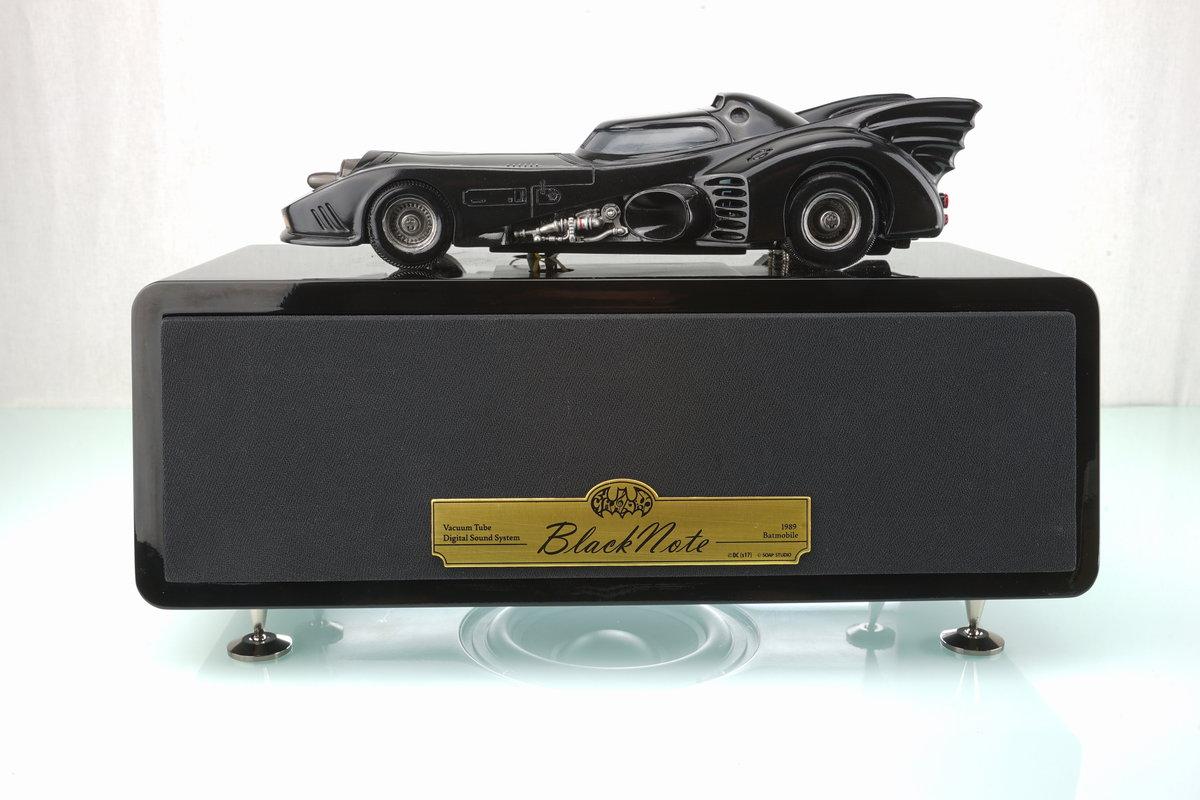 "[Soap Studio] ""Black Note"" (黑色音符) 1989蝙蝠車 真空管音響系統"