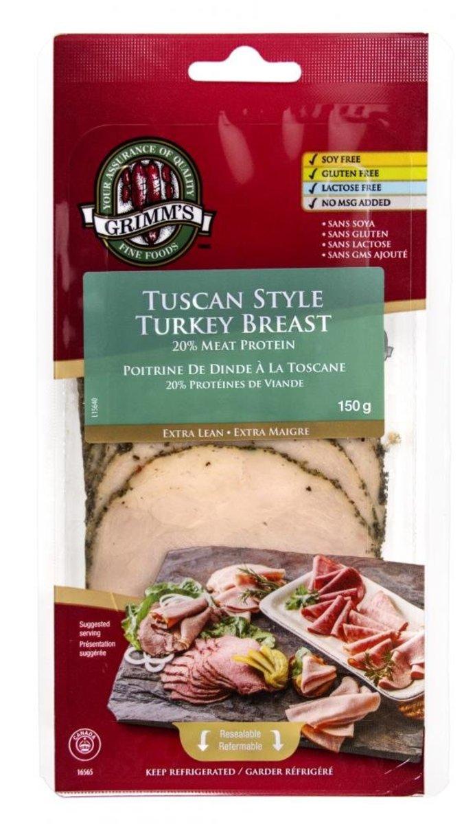 Tuscan Style Turkey Breast