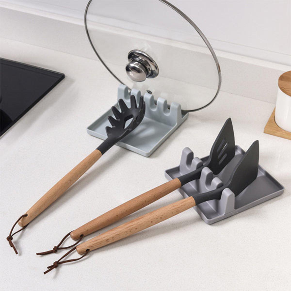 廚房鍋鏟湯勺筷子鍋蓋置物架