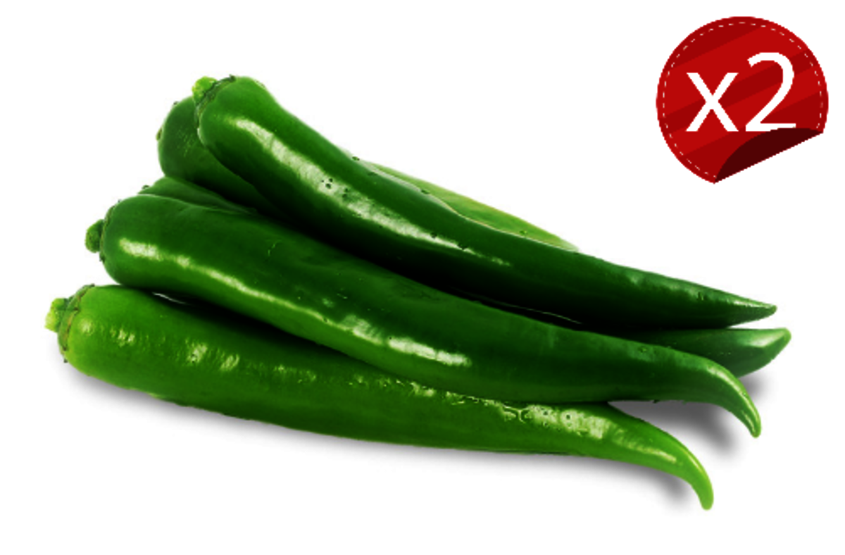 青尖椒(2包/約400-600克)