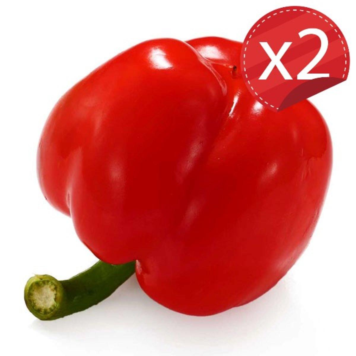 紅彩椒(2包/約600-800克)