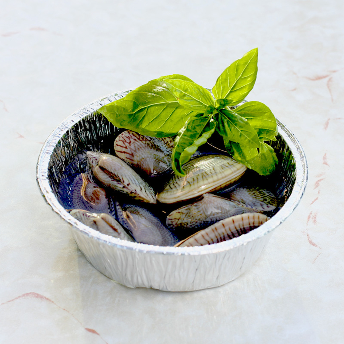 Grill Clam with Sake