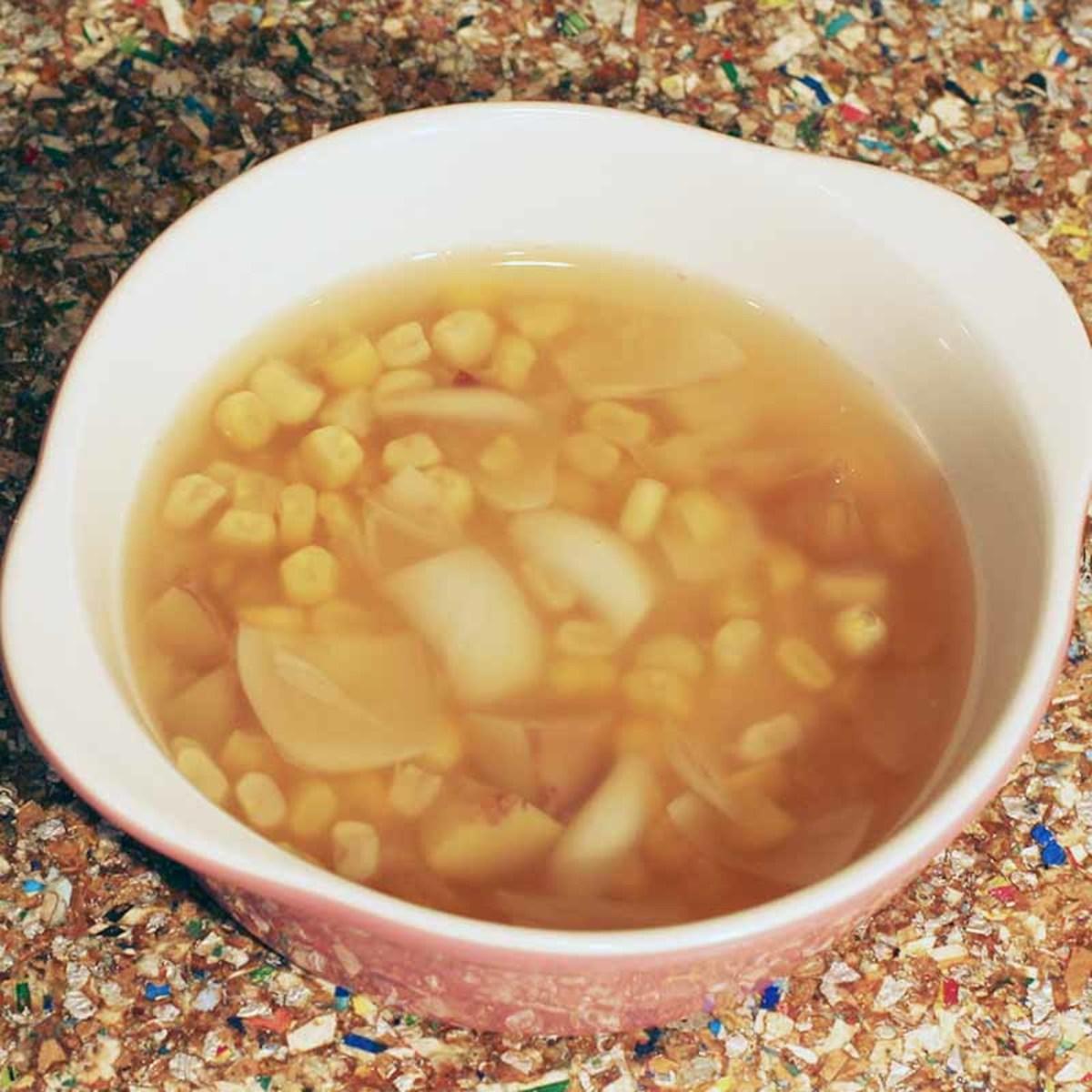 Chestnut, Lily Bulb, Corn Sweet Soup