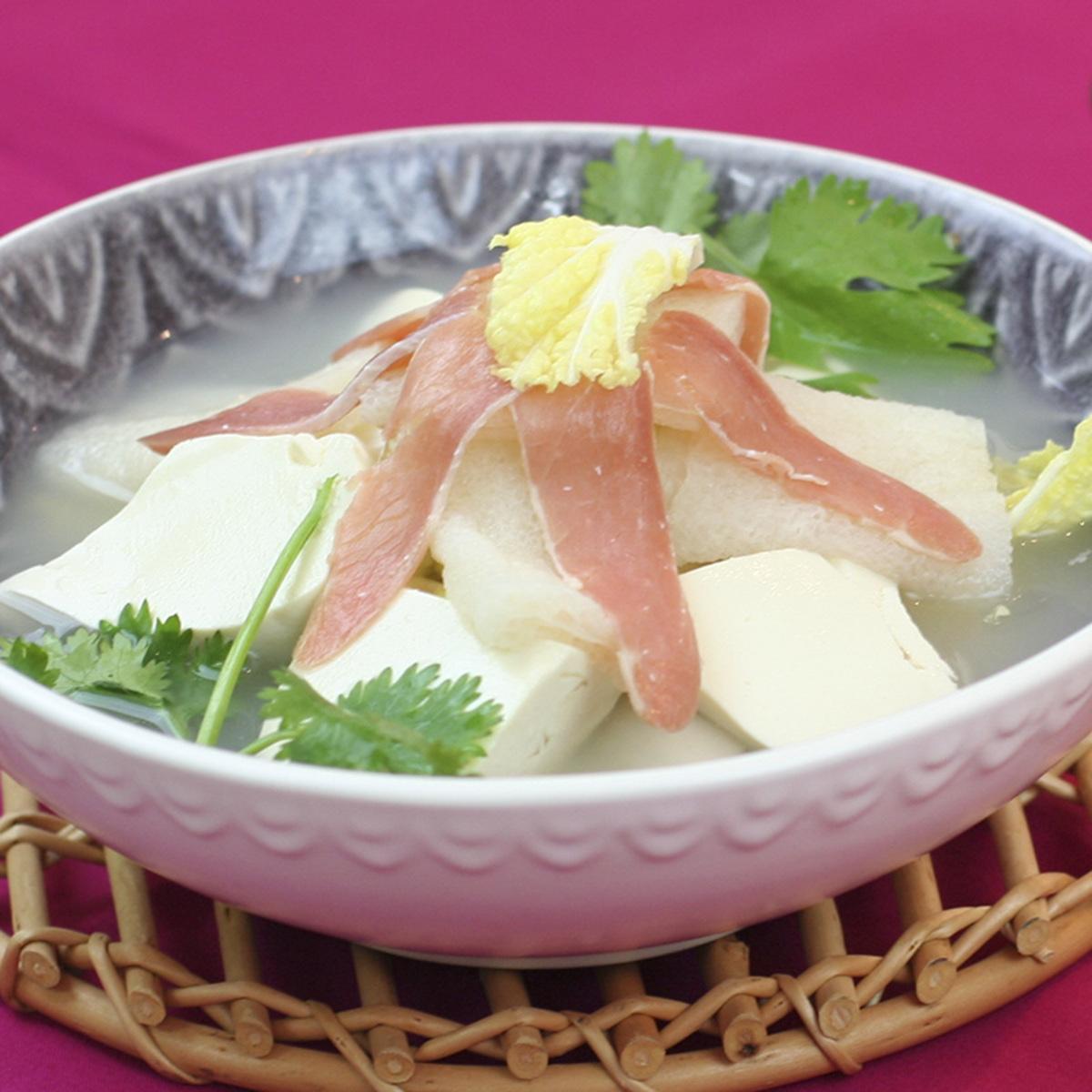 火瞳竹笙豆腐鍋
