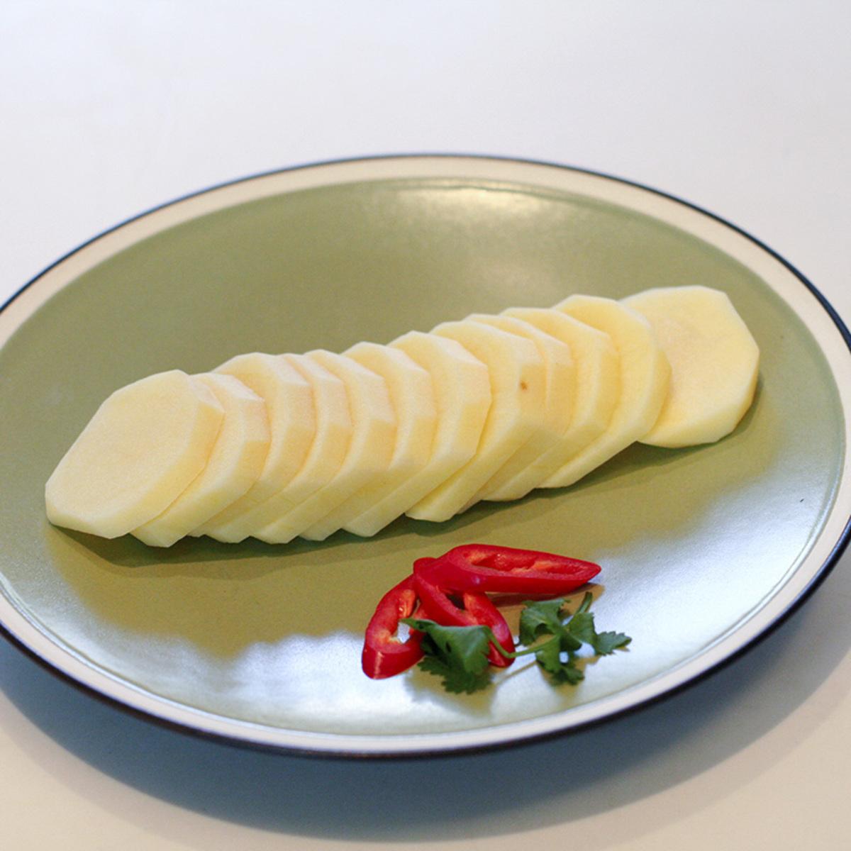 新鮮厚切薯仔片