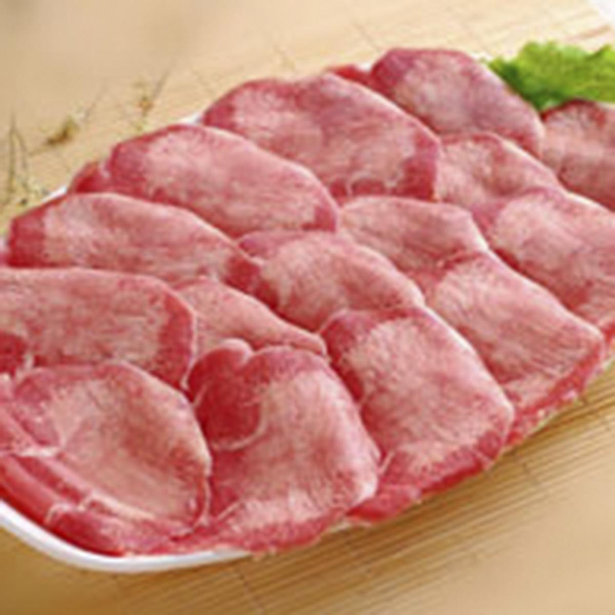 生牛舌薄切片(180g)
