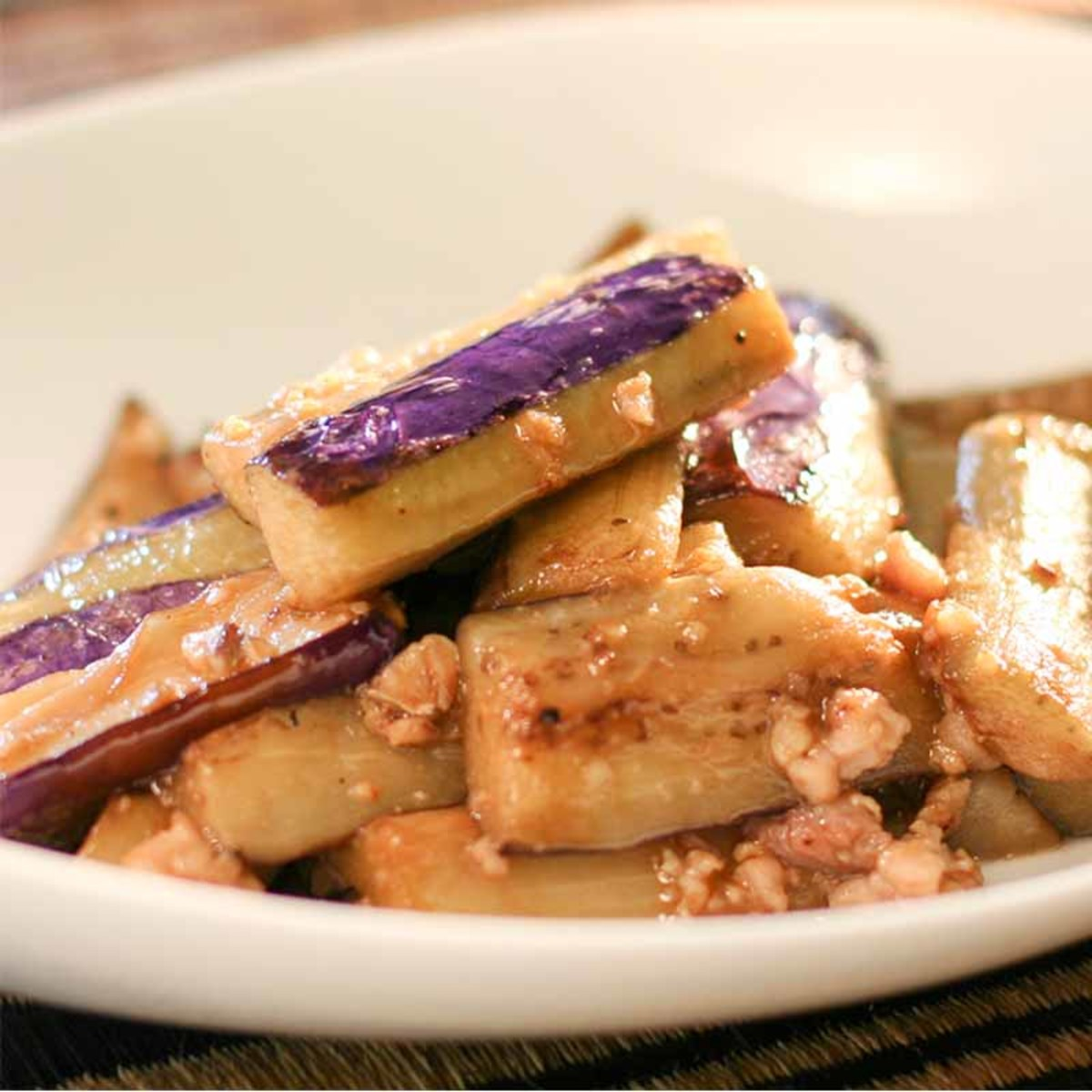 Spicy Eggplants with Minced Pork