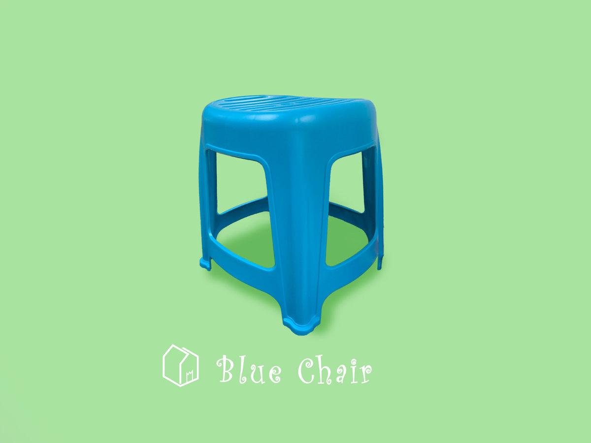 """Plastic Chair 11""""(w) x 10""""(l) x 13""""(h) [Blue]"""