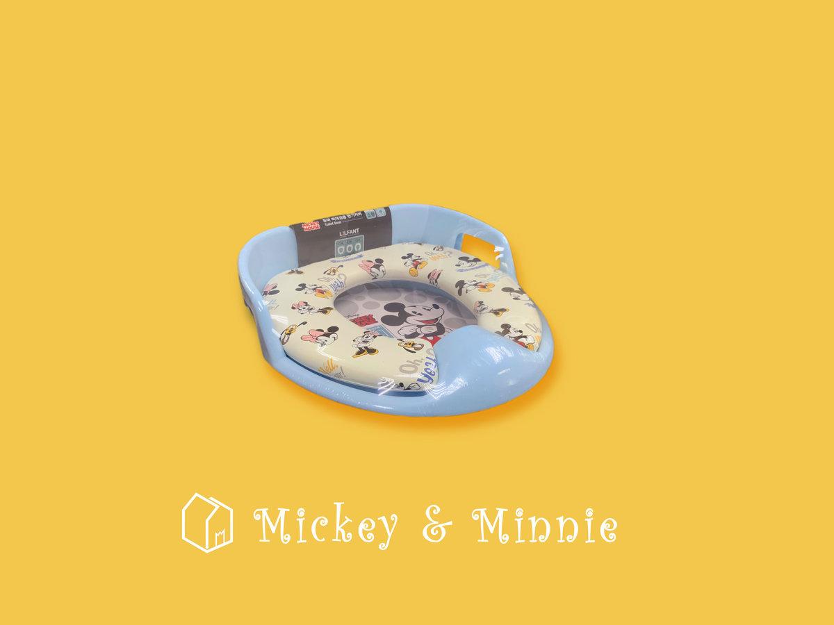 迪士尼正版 經典米奇老鼠Mickey Mouse 兒童坐廁板 325mm x 295mm