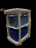 正版 Baby Mickey 兩層滾輪儲物架 玩具箱 28