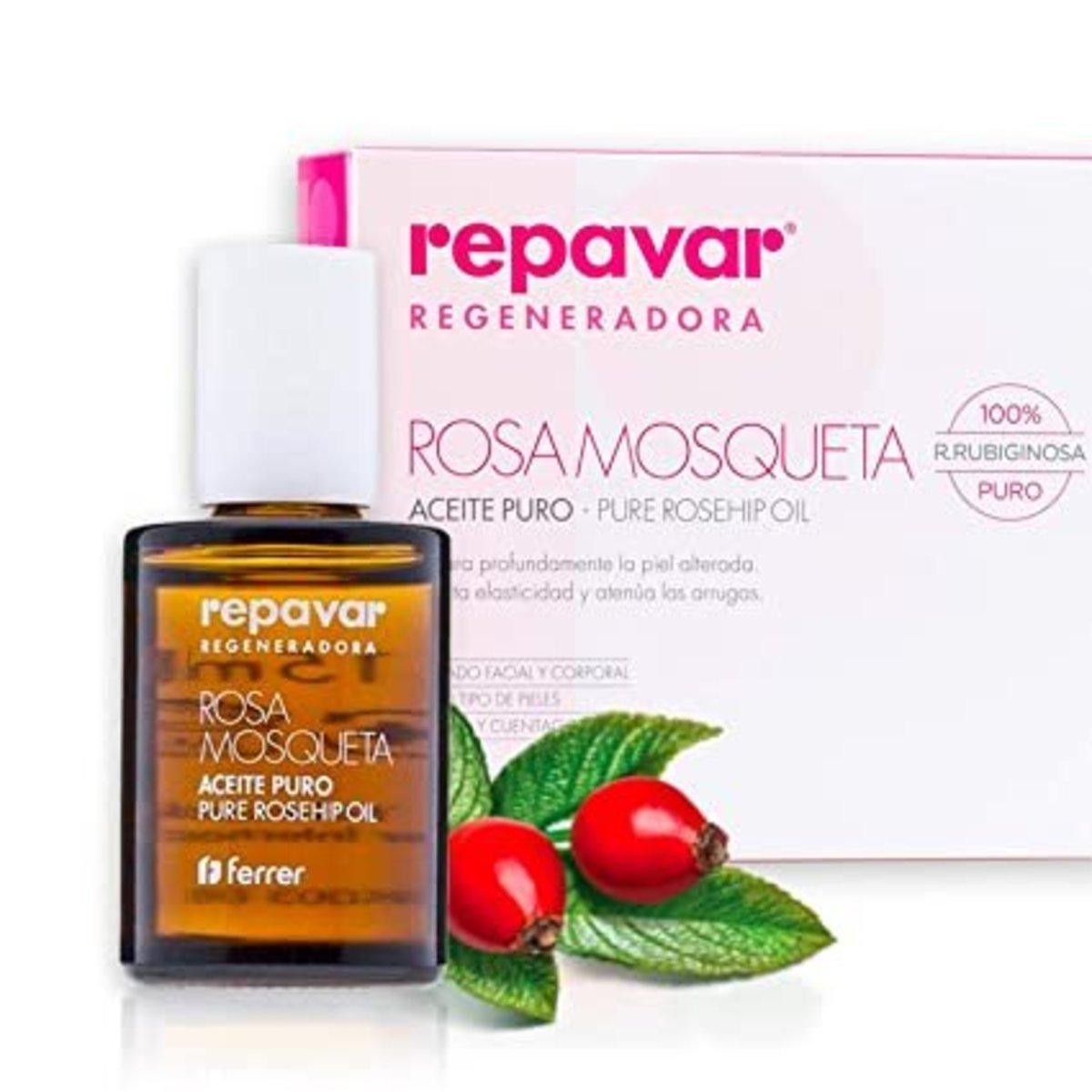Ferrer Repavar Rosa Mosqueta Pure Rosehip Oil (15ml)