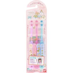 日本 Skater Skater 小童牙刷3支裝 (角落生物)