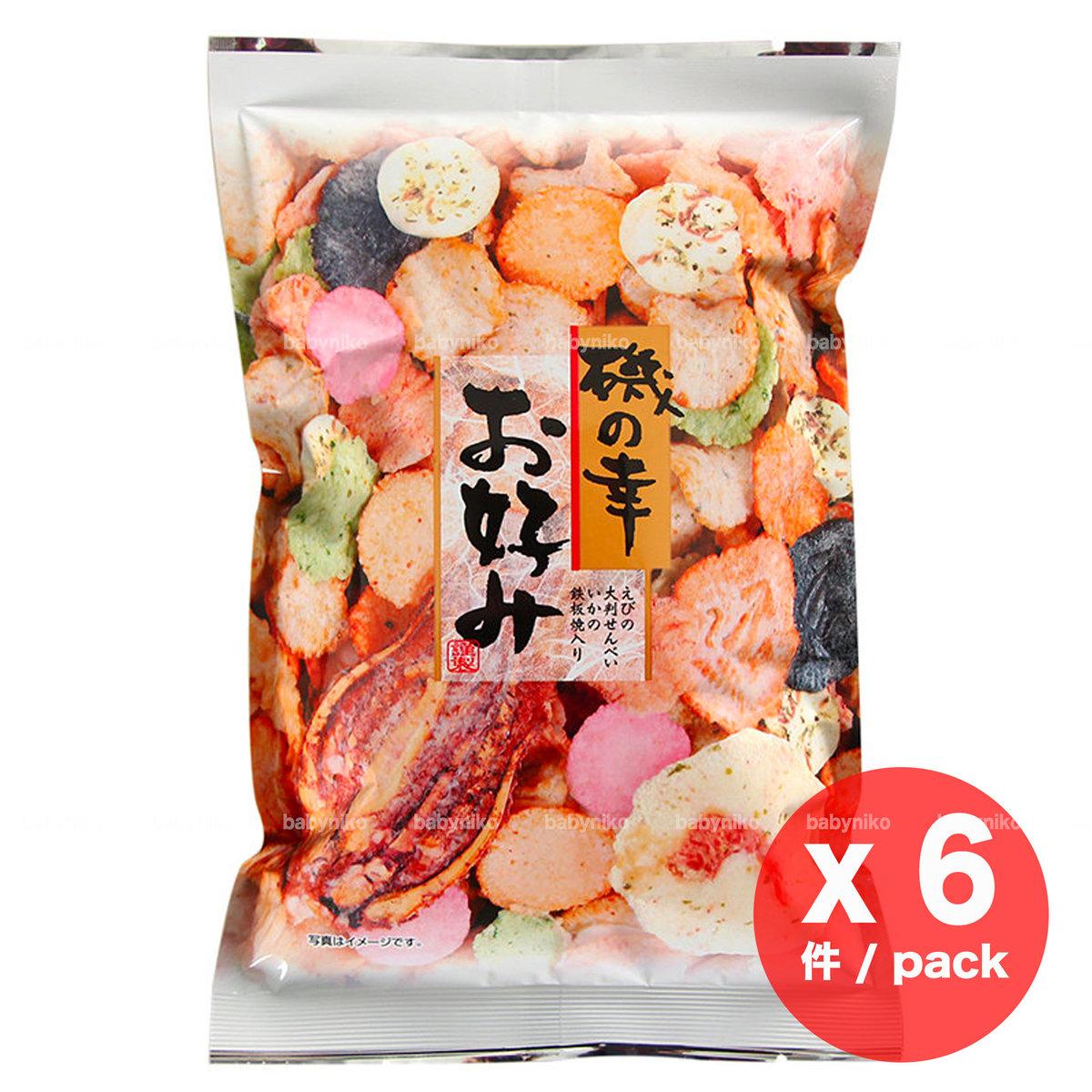IKEDA   IKEDA Mix rice cake seafood favour x 6 pack   HKTVmall