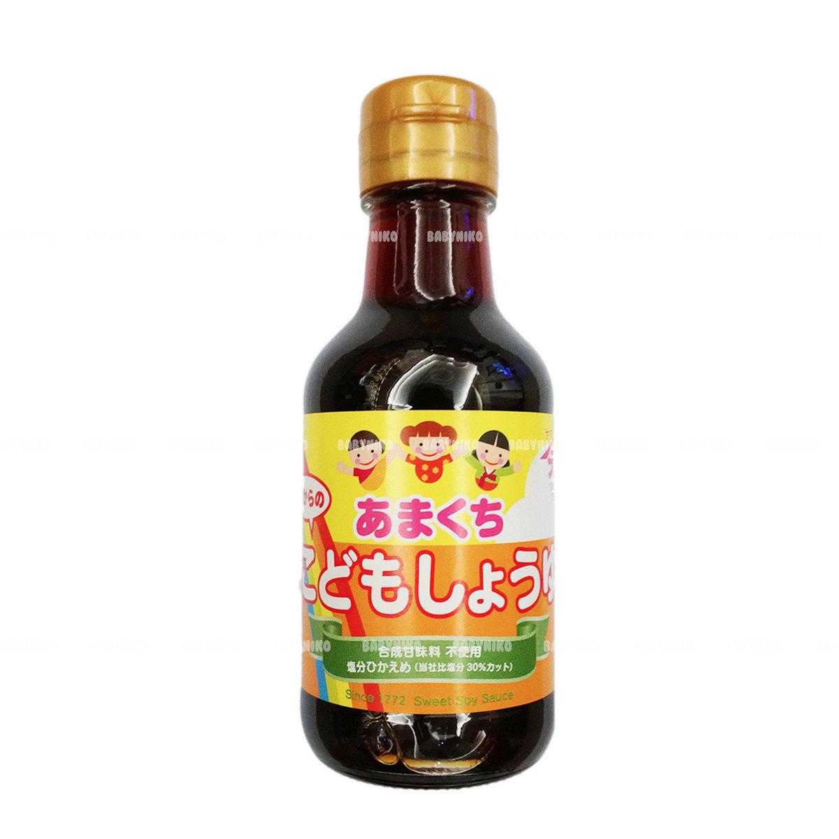 Yamagen Japan Soy Sauce (Salt Reduce) for 1 year old +