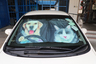 SPCA x SoNice Go Together Car Windshield Sun Shade