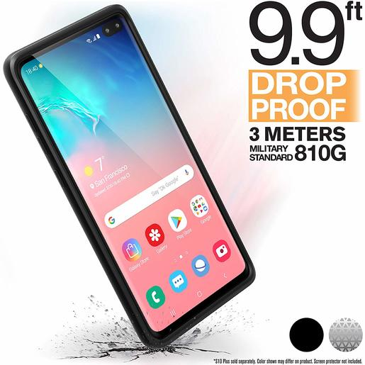 Catalyst® Impact Protection Case for Samsung Galaxy S10+ - Stealth Black