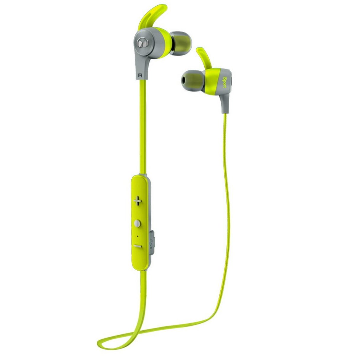 ISPORT ACHIEVE IN-EAR WIRELESS HEADPHONES (GREEN)