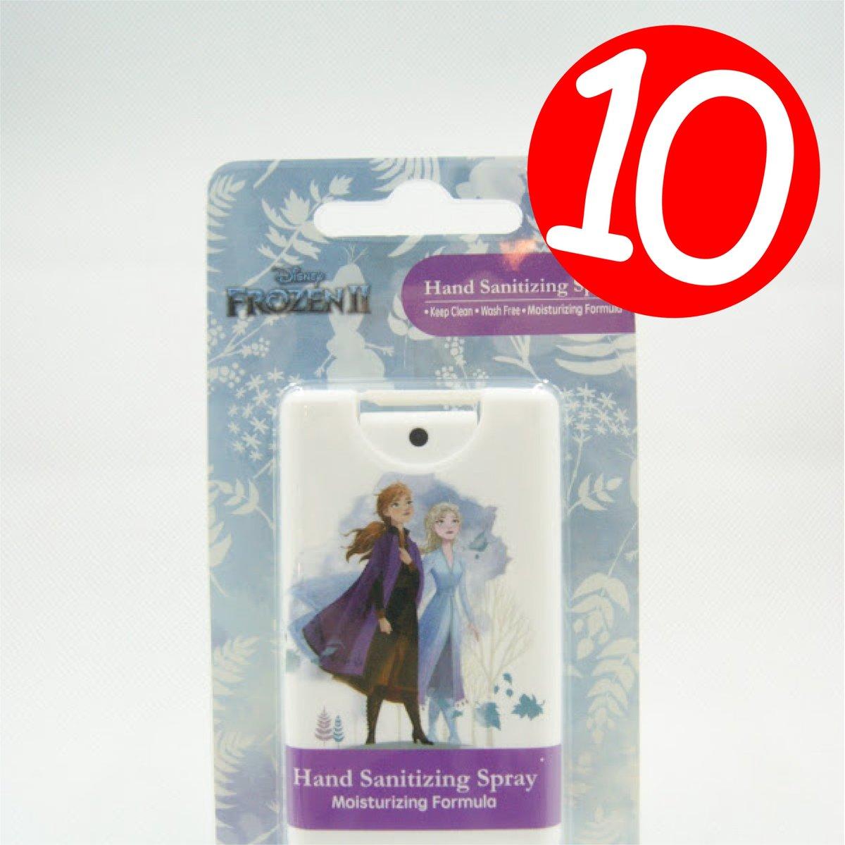 Disney Frozen2 Hand Sanitizer Spray 12ml DFZ0025 x10 [Licensed by Disney]