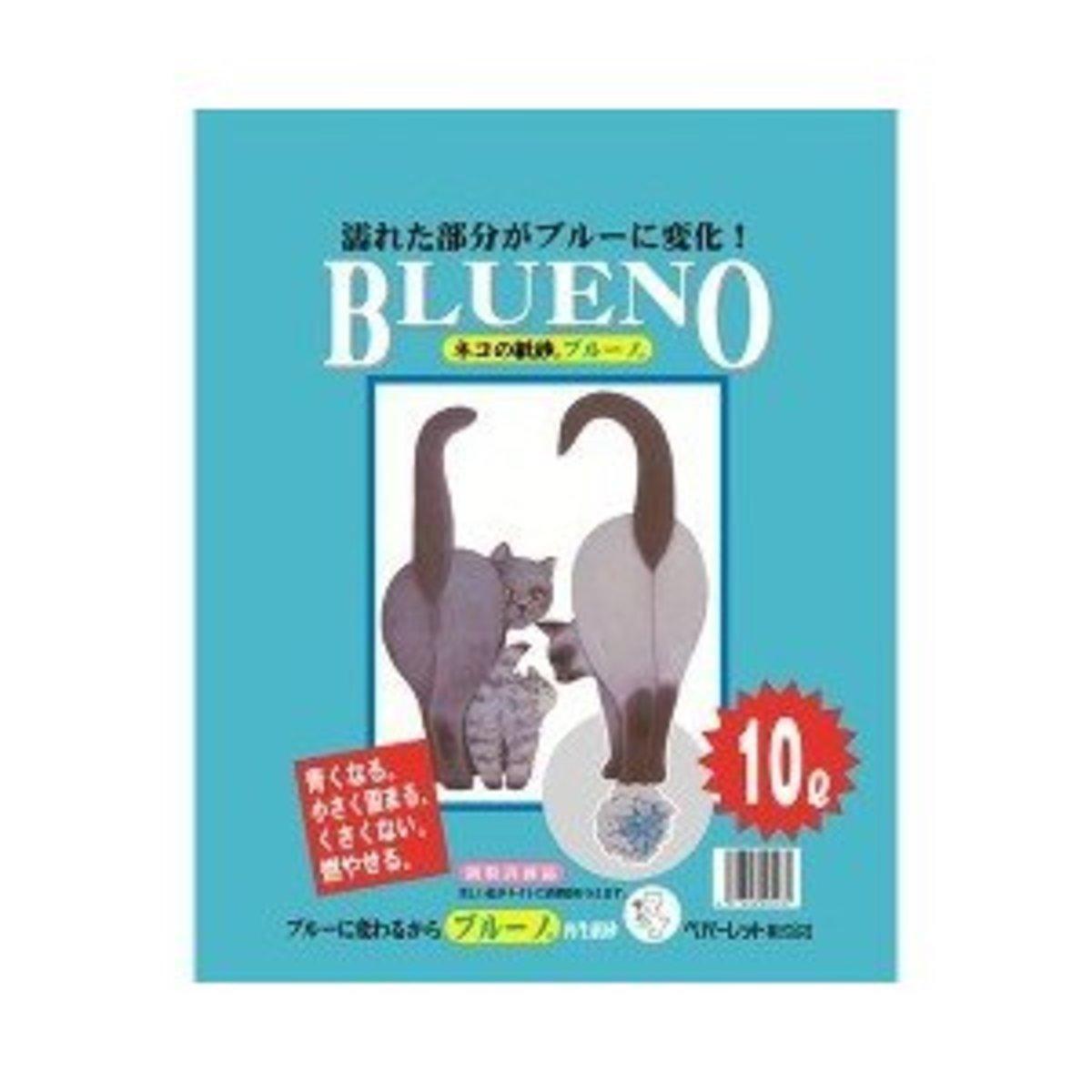 日本BLUENO變藍再生紙砂 原味 10L