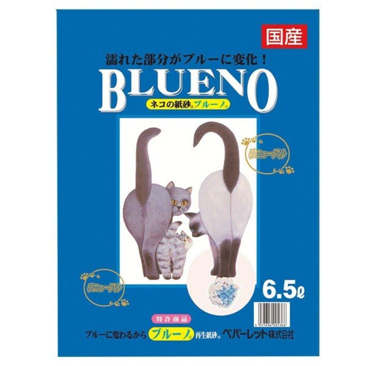 日本BLUENO變藍再生紙砂 原味 6.5L