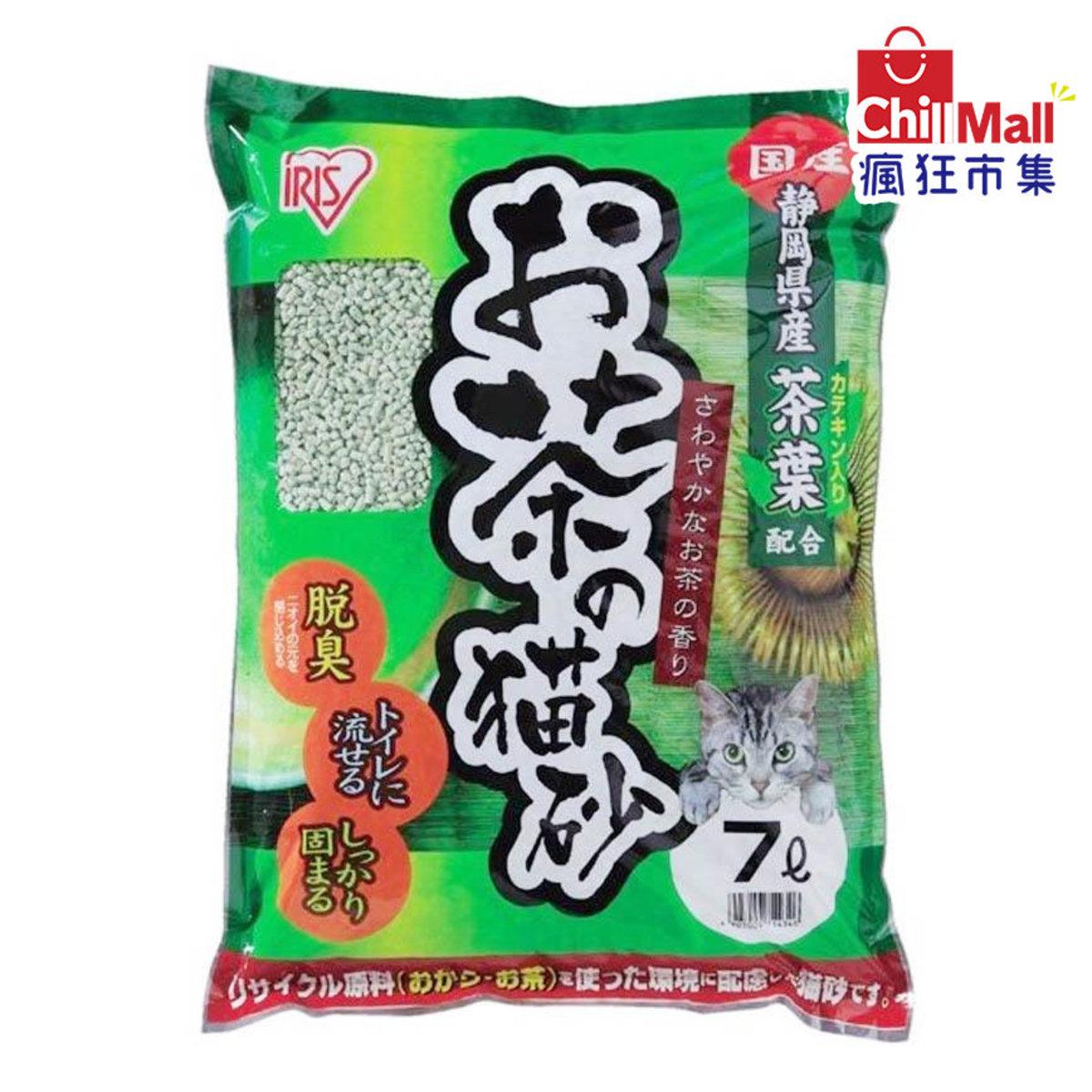 【豆腐貓砂】日本IRIS 靜岡縣產綠茶豆腐貓砂 7L 9714346