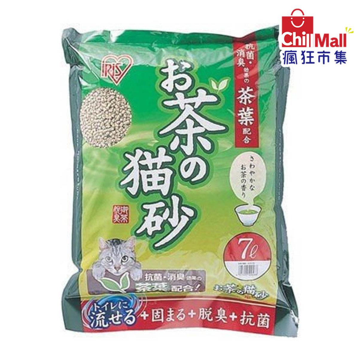 【豆腐貓砂】日本IRIS 清香綠茶豆腐貓砂 7L 9409488