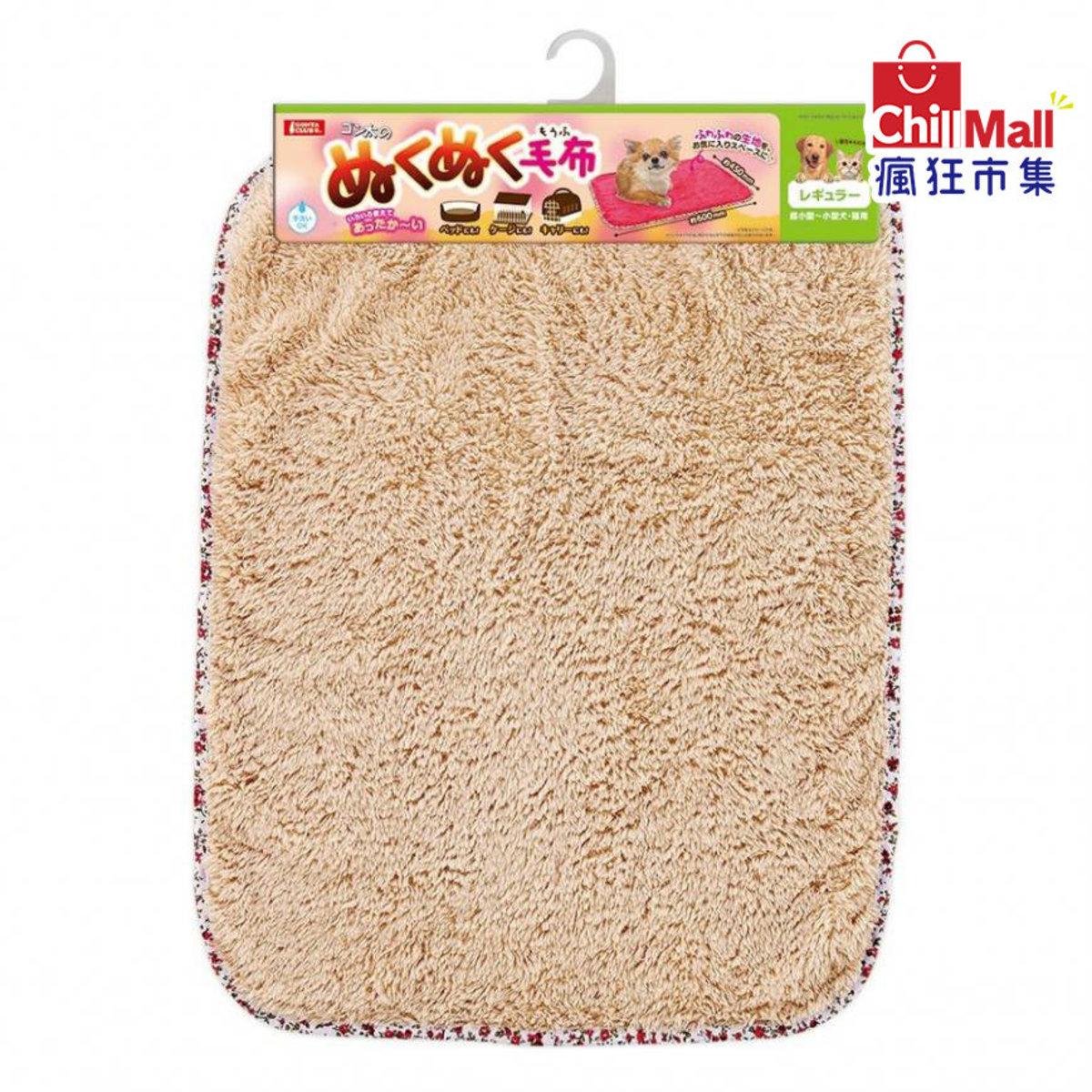 日本Marukan 冬天必備寵物保暖毛毯 中碼 顏色隨機 (貓犬用) (6569763)