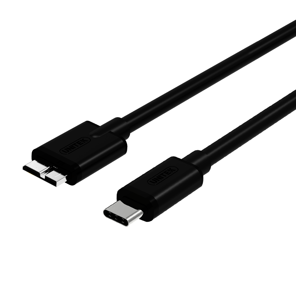 Y-C475BK USB3.1 USB-C (M) to Micro B (M) Cable