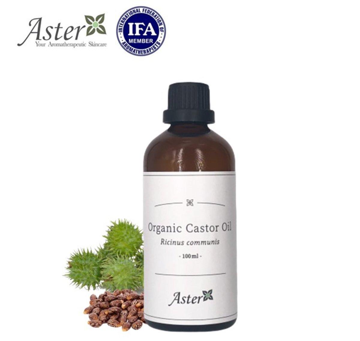 Aster Aroma Organic Castor Oil Ricinus Communis 100ml Hktvmall Online Shopping