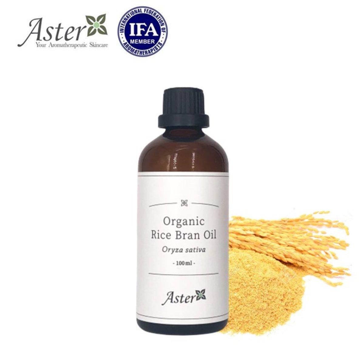 Organic Rice Bran Oil (Oryza sativa) - 100ml