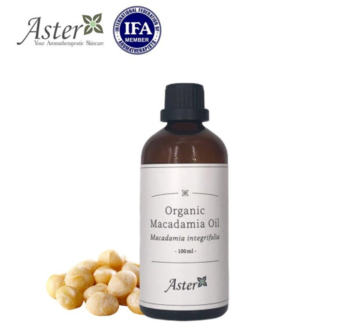 Organic Macadamia Oil (Macadamia integrifolia) - 50ml