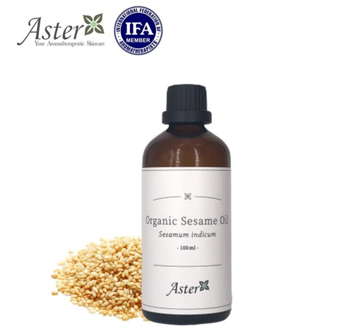 有機芝麻油 (Sesamum indicum) - 100ml