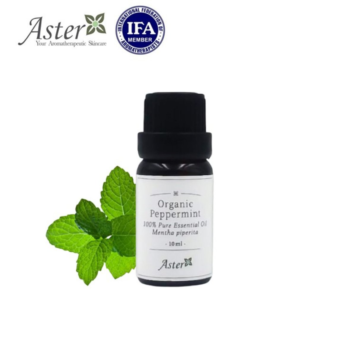 Organic Peppermint Essential Oil (Mentha piperita) - 10ml