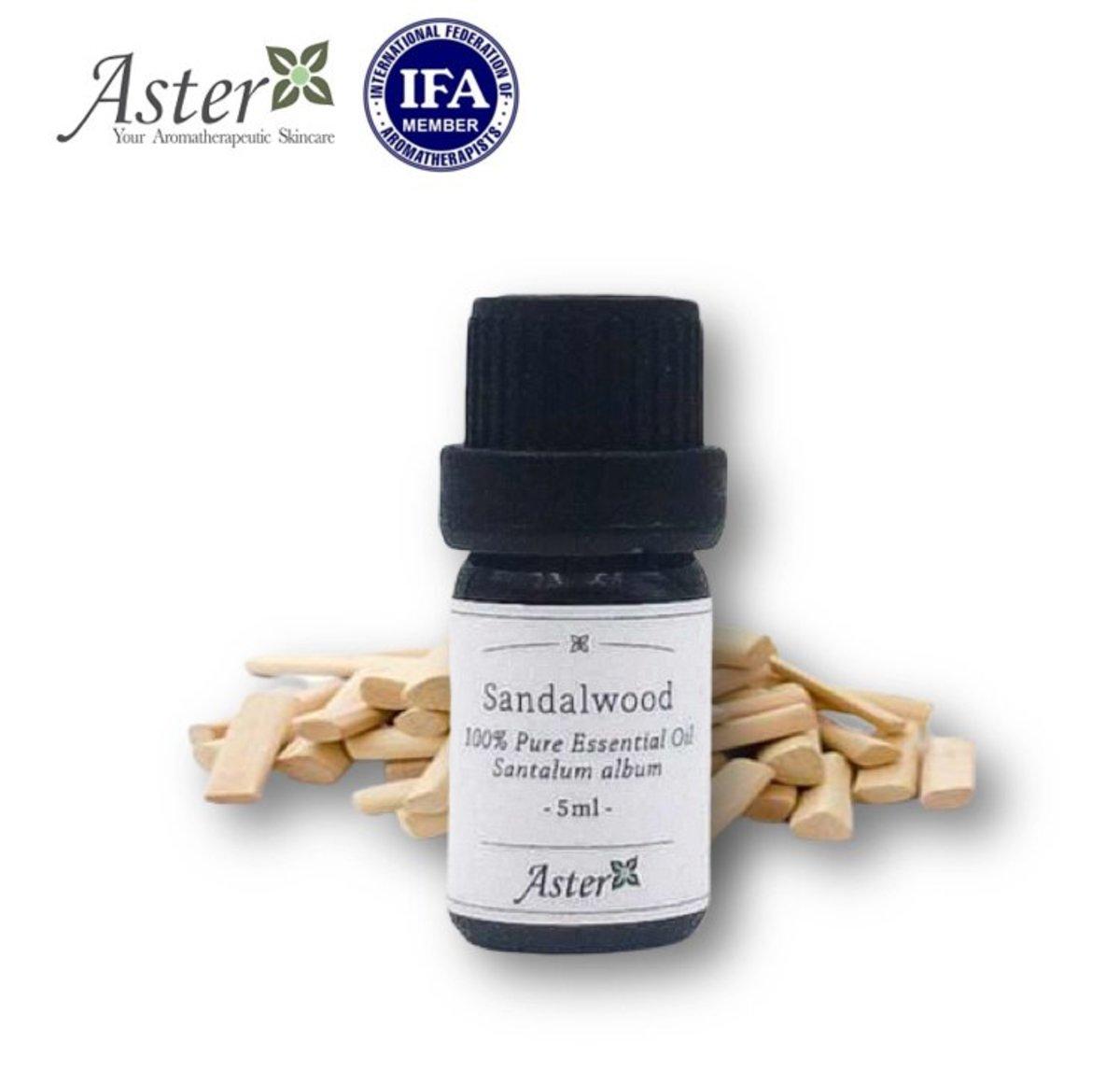 Sandalwood 100% Pure Essential Oil (Santalum album) - 5ml