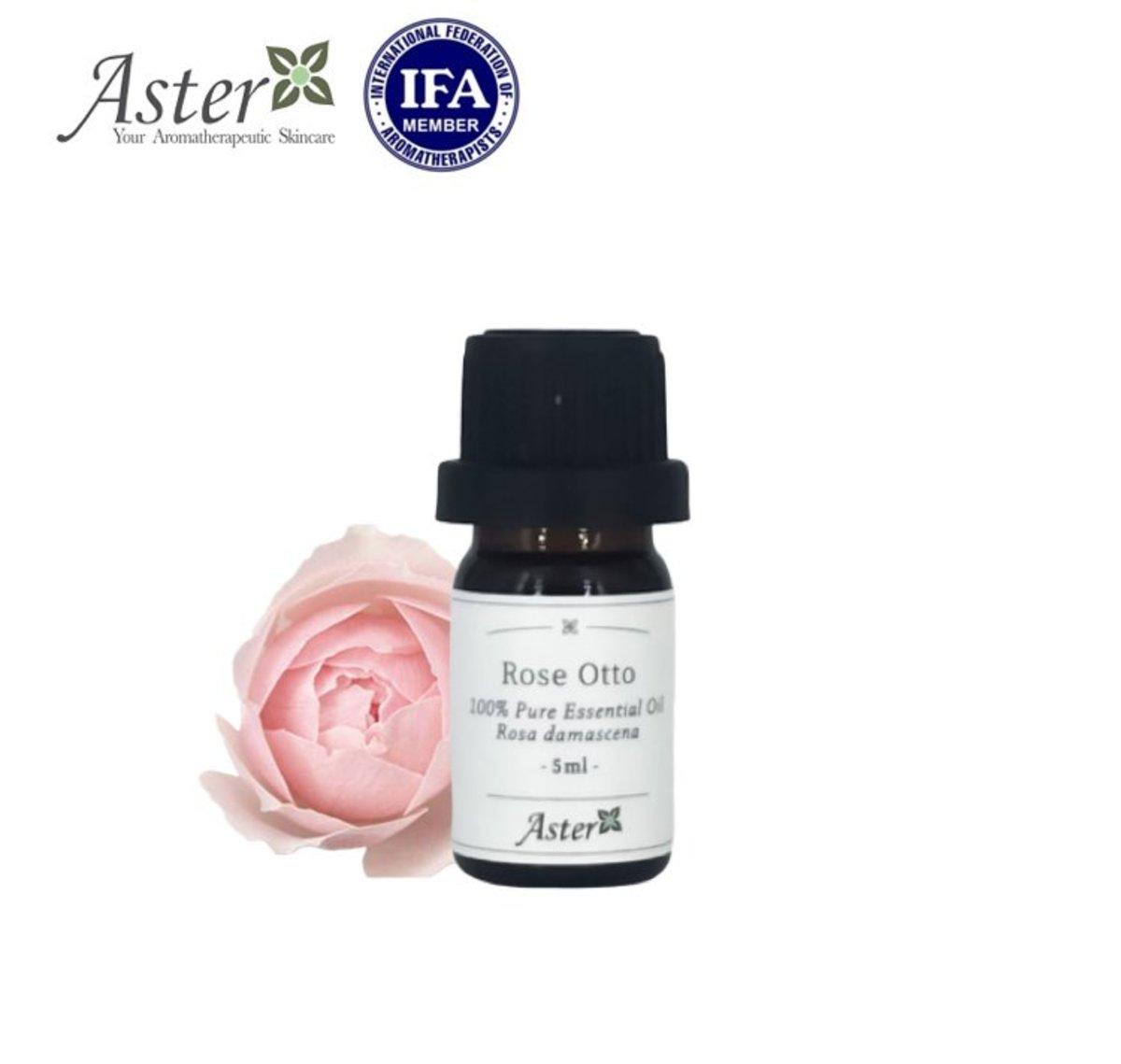奧圖玫瑰100% 純香薰精油 (Rosa damascena) - 5ml