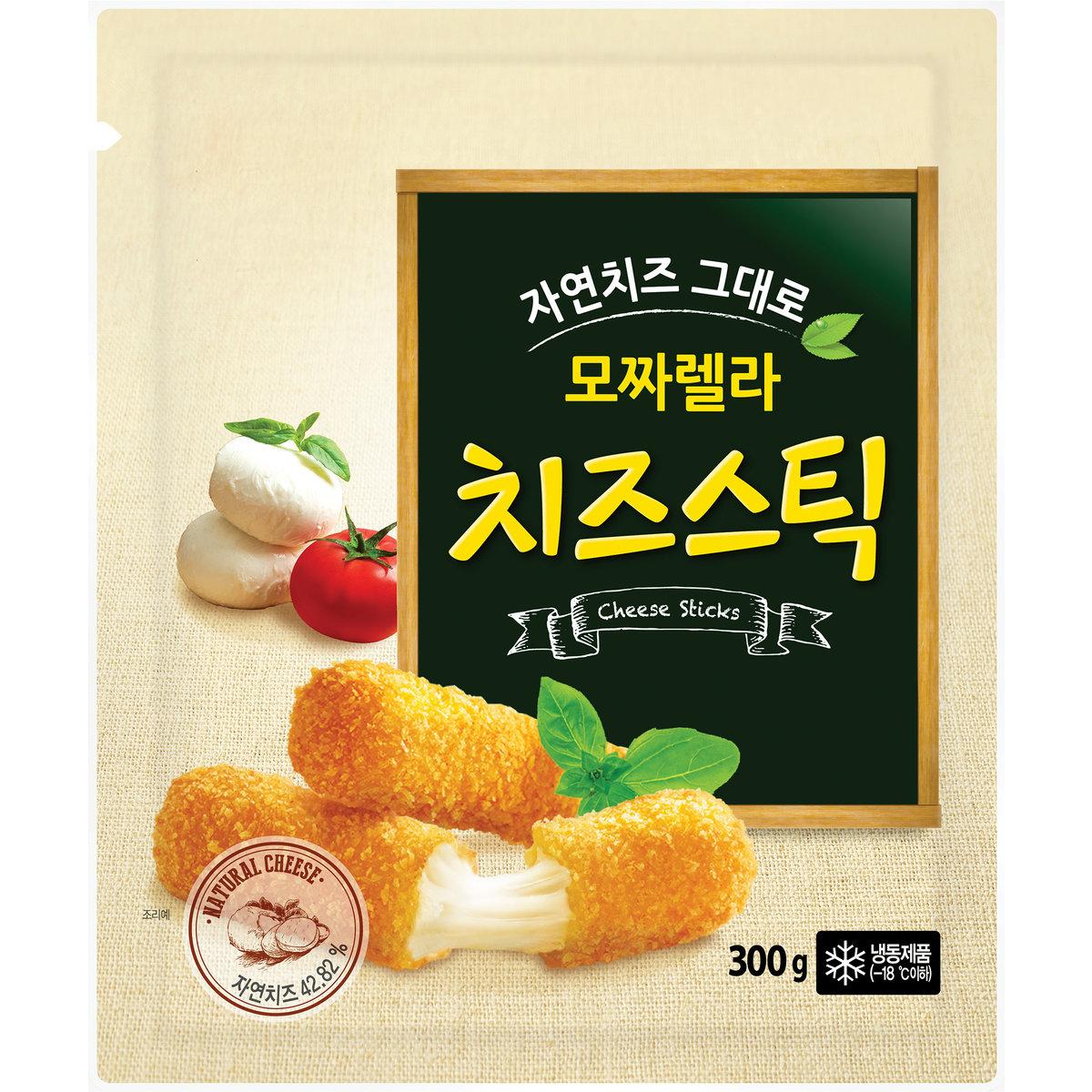 Korea Ourhome mozzarella cheese stick (around 300g)