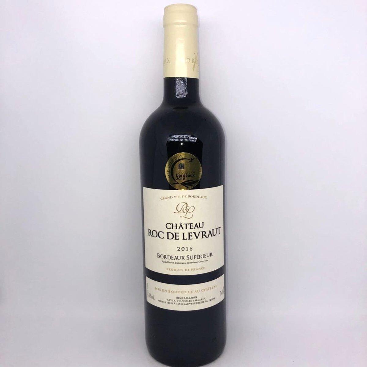 Ch Roc de Levraut Bordeaux  Superieur 2016