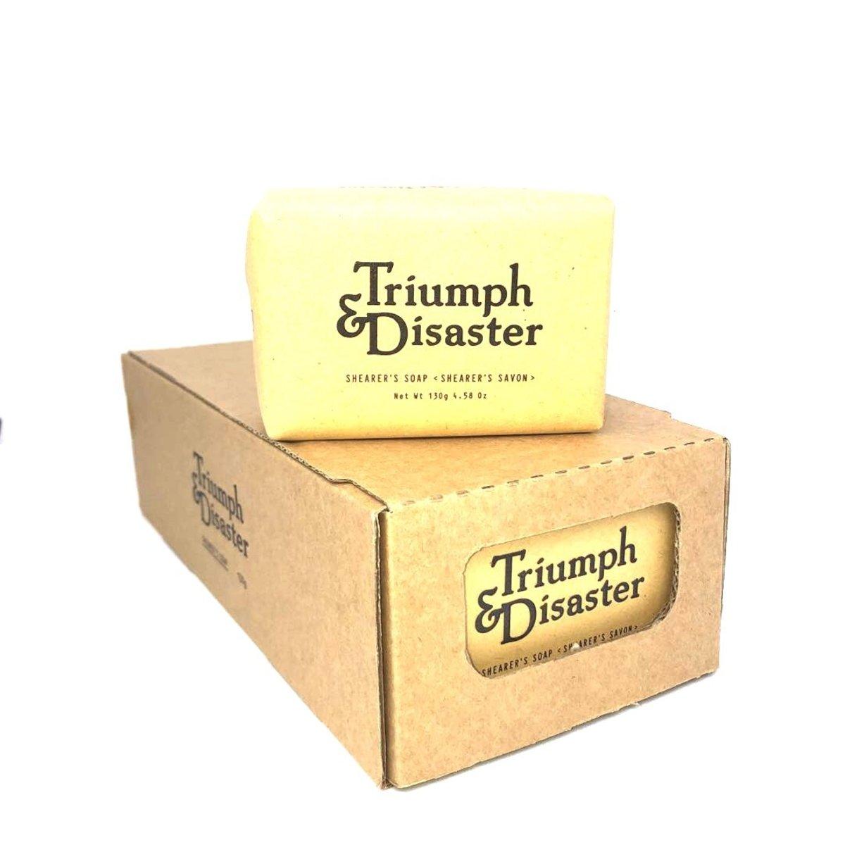 Triumph & Disaster shearerssoap