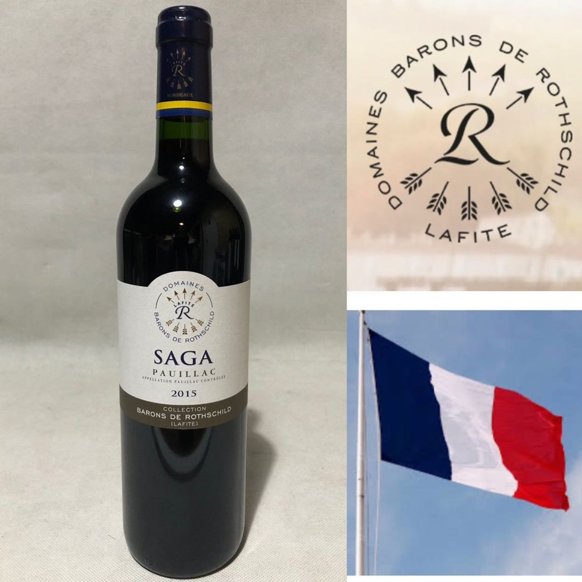 Domaines Barons de Rothschild Lafite Collection Saga Pauillac, France 2015