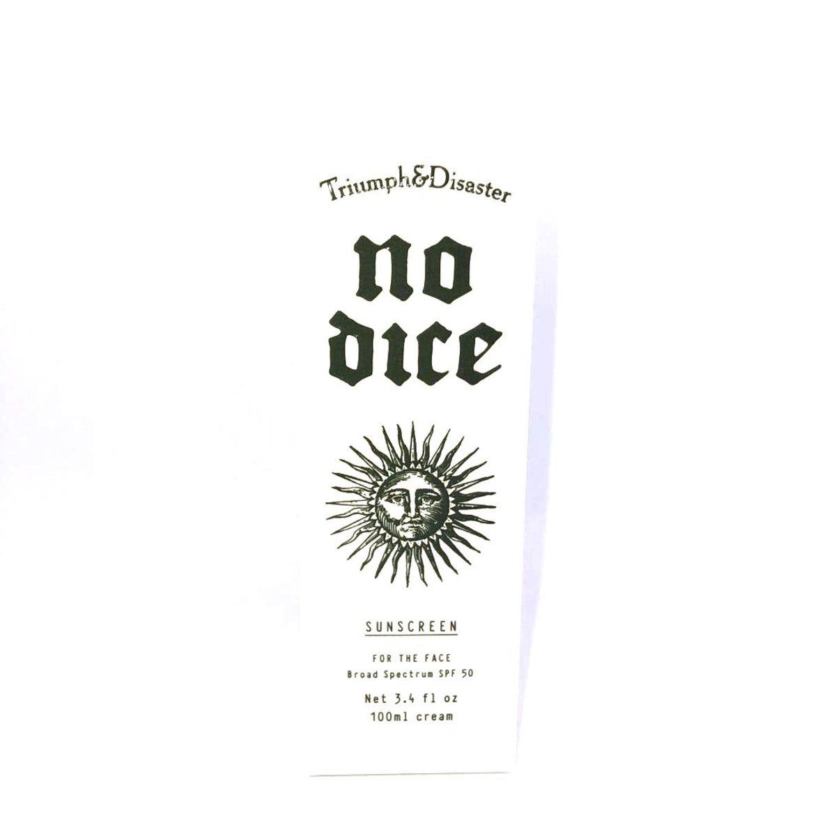 臭美男防曬霜 Triunph&Disaster-No Dice Sunscreen
