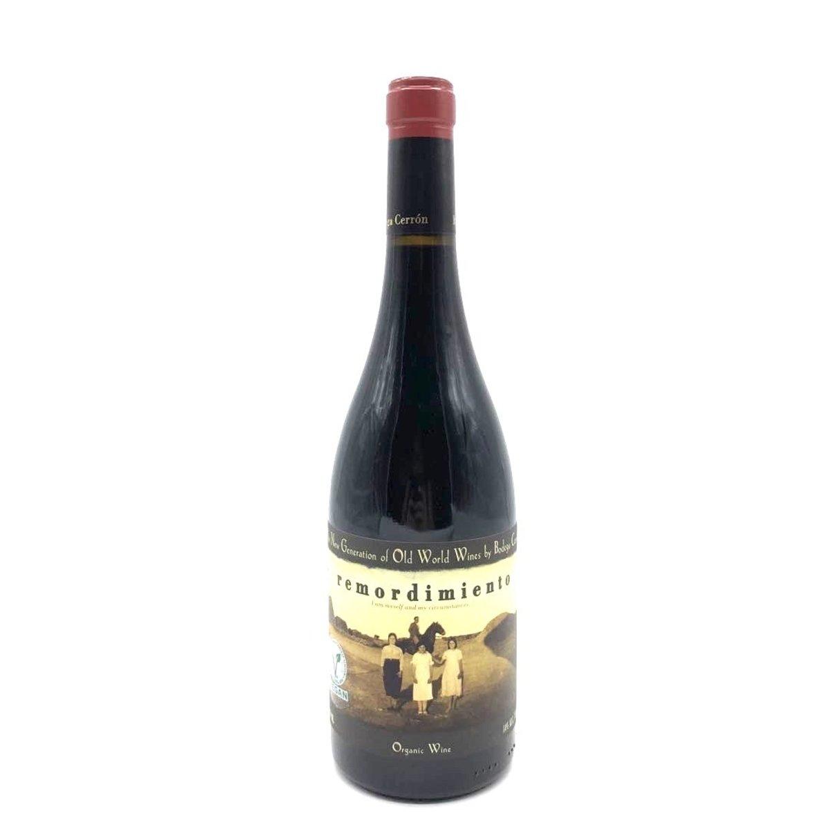 Bodega Cerron Remordimiento Organic Spain Red Wine 2013
