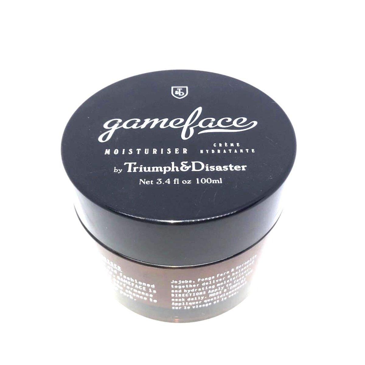 Triumph & Disaster  Gameface Moisturizer 100ml Jar