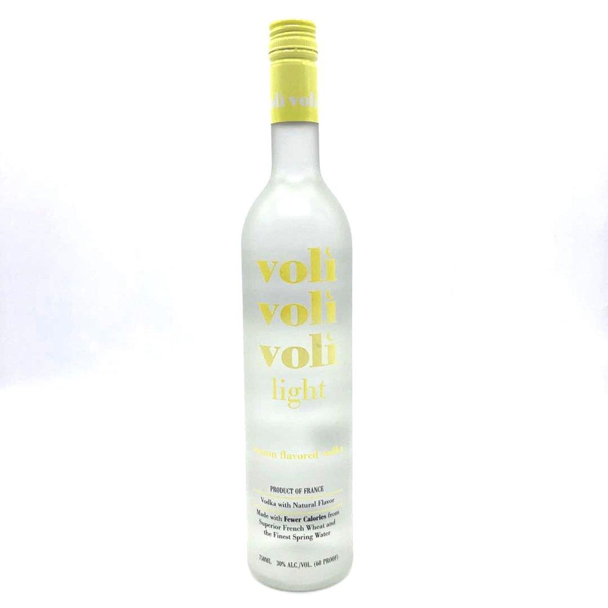 Voli Light Vodka Lemon 750ml